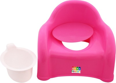 DealBindaas Presents 2 In 1 Baby Potty Cum Chair Pink Potty Box
