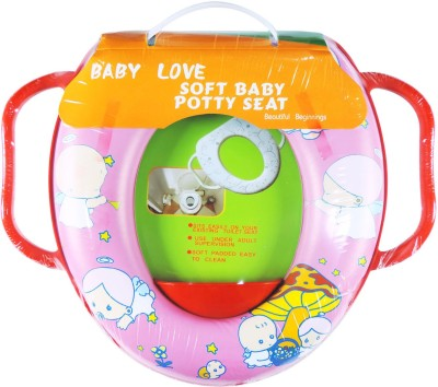 Ole Baby Soft Baby Baby Angel Prints With Side Handle Potty Seat