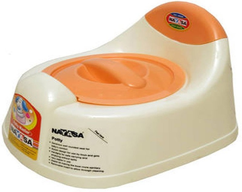 Nayasa trainer Potty Box(Cream)