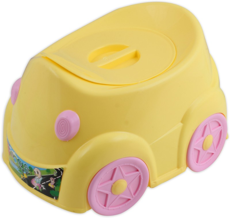 FabSeasons Trainer Potty Box(Yellow)