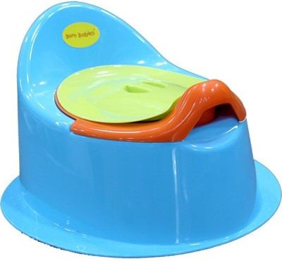 BORN BABIES TRAINER Potty Box(Blue)