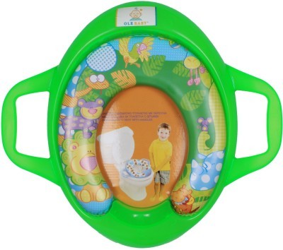 Ole Baby Jumbo the Lion With His Jungle Friends, Padded, Soft, and Durable, Cushion Jumbo Trainer With Handle Potty Seat