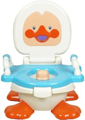 Gold Dust Panda Duck Baby Traning Potty Seat(White)