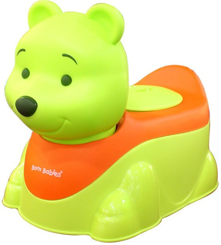 Born Babies trainer Potty Box(Green)