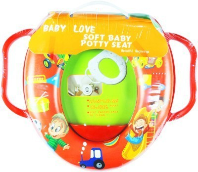 Babyofjoy Soft Baby Picnic Prints With Side Handle Potty Seat
