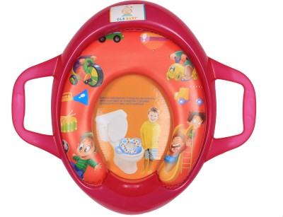 Ole Baby Kids Picnic Party With Musical Instruments , Padded, Soft, and Durable, Cushion Jumbo Trainer With Handle Potty Seat