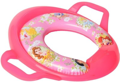 Baby Bucket Soft Padded Potty Training Toilet t With Handles Princess Print Potty Seat(Pink)