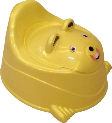 CSM 2 in 1 Baby Potty Cum Chair - Yellow Potty Seat