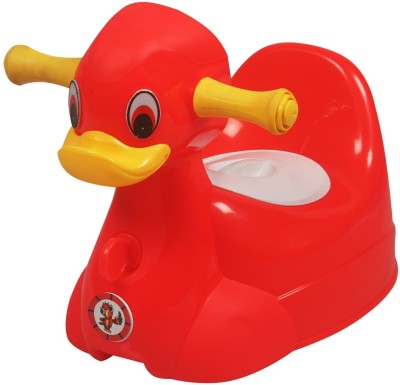 Sunbaby Squeaky Duck Potty Trainer Potty Seat