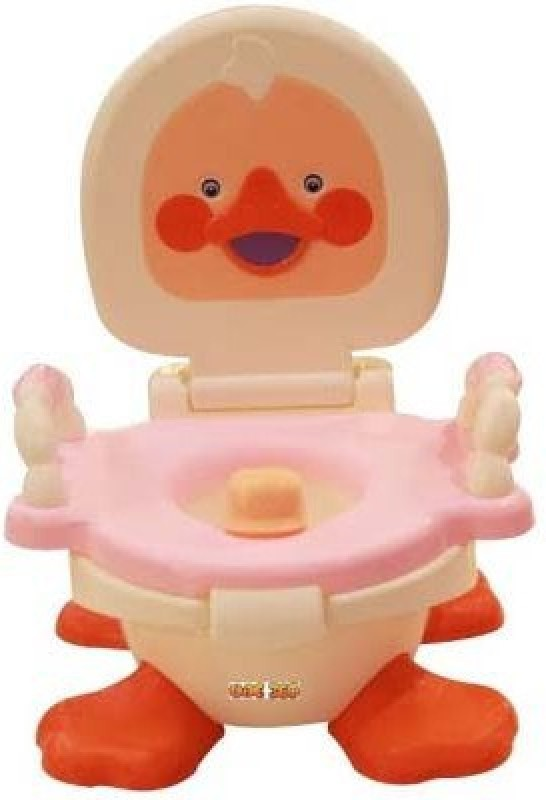 ANH Style Trainer Panda Duck Potty Potty Seat(White, pink)