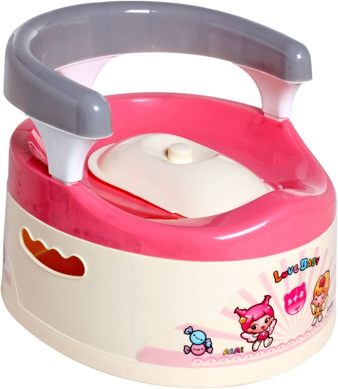 Offspring Trainer Potty Chair(Pink)
