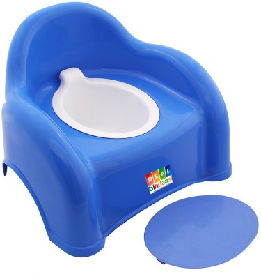 DealBindaas Presents 2 In 1 Baby Potty Cum Chair Blue Potty Box
