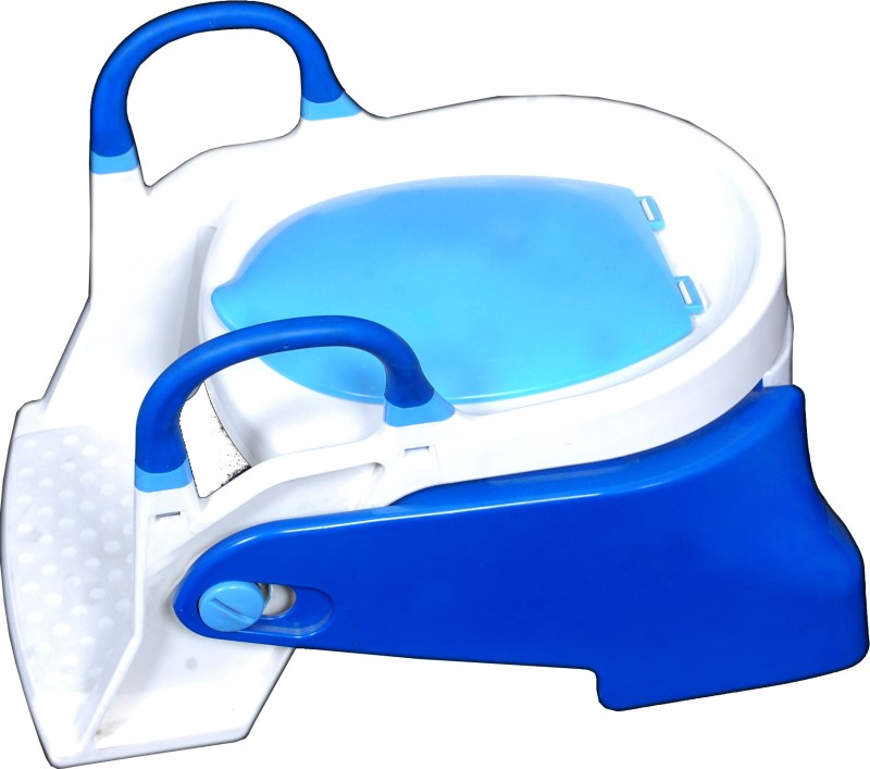 Farlin Step Up Two Stage Potty Trainer Potty Chair(Blue)