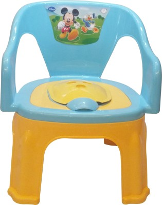 CSM 2 In 1 Blue & Yellow Baby Potty Cum Chair Potty Seat