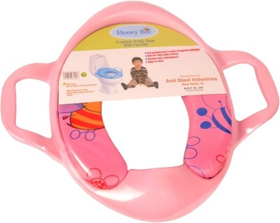 Honey Bee Training Cushioned With Handle Potty Seat