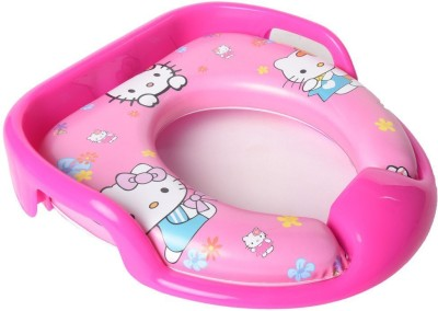 Baby Bucket Soft Padded Training Toilet Potty Seat(Pink)