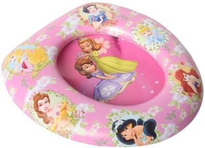 Baby Bucket Soft Padded Princess Print Training Toilet Potty Seat(Pink)