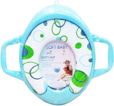 Ole Baby Bubble Print Soft Baby Potty Seat