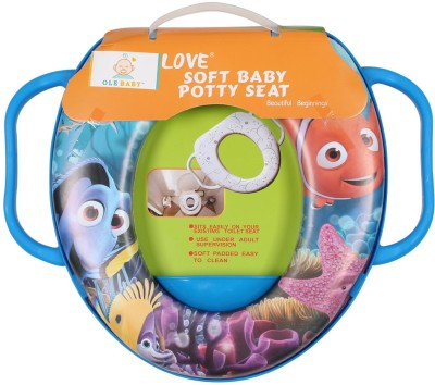 Ole Baby Nemo the Fish of the Movie Nemo With His Friends ,Padded, Soft, and Durable,Full Cushion Assorted Potty Seat