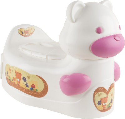 Ayaan Toys Bear Potty Seat Potty Box