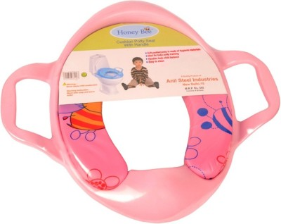 honey bee Cushioned seat with Handle Potty Seat