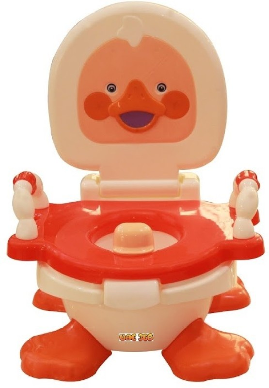 UAE 360 Panda Duck Potty Seat(Red)
