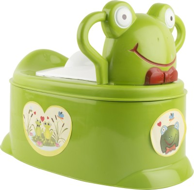 Ayaan Toys Frog Potty Seat Potty Box