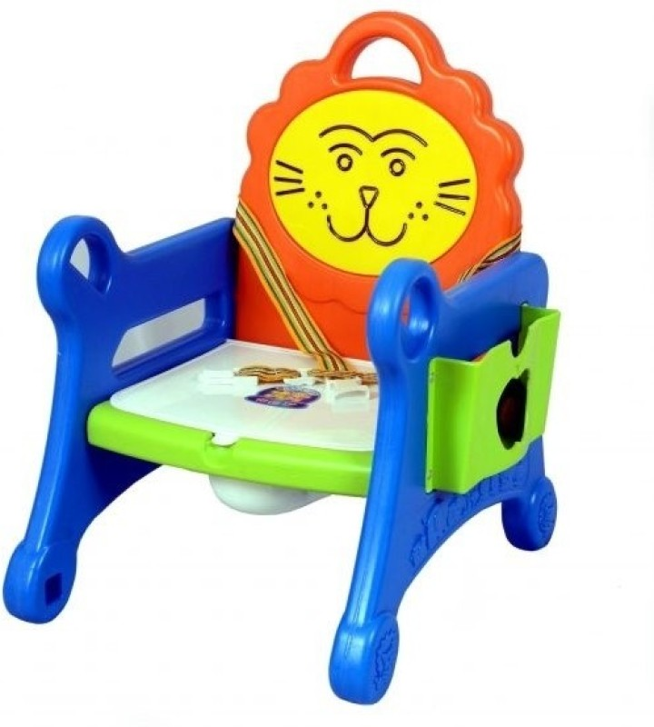 SteelCraft Lion Potty Chair Potty Chair(Yellow, Orange, Green)
