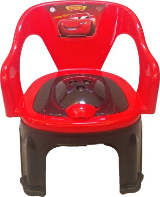 CSM 2 In 1 Red & Black Baby Potty Cum Chair Potty Seat(Multicolor)