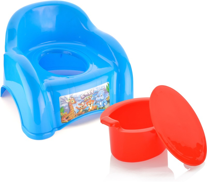 Sukhson India Abcd Baby Potty Box(Multicolor)
