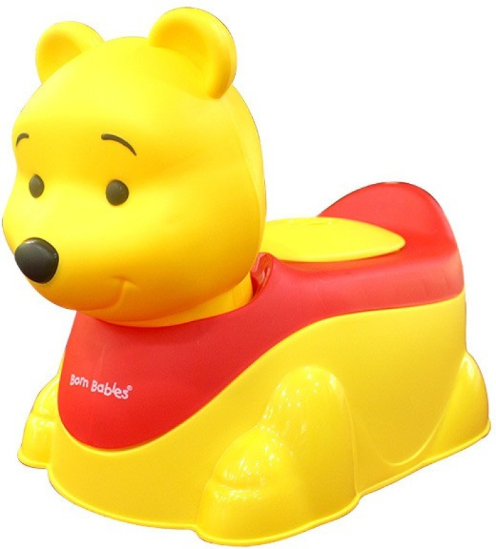 Born Babies POTTY TRAINER Potty Box(Yellow)