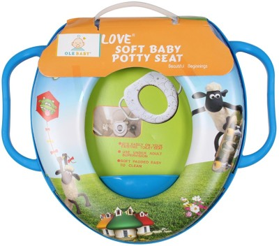 Ole Baby Flying and Skating Shawn the sheep, Padded, Soft, and Durable,Full Cushion Assorted Potty Seat