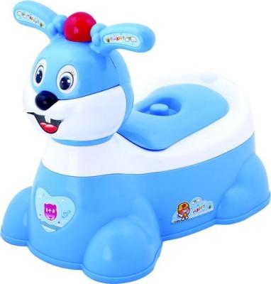 Magic Pitara Rabit Face Baby (Blue) Potty Box(Blue)