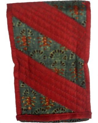 Sheela's Arts&Crafts pouches Mobile Pouch(Red)