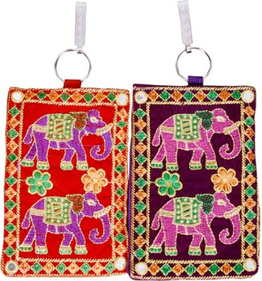 Craft Trade Craft Trade Elephant Design Mobile Pouch (C) Mobile Pouch