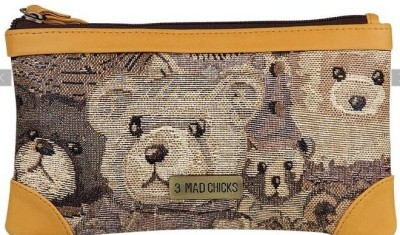3 Mad Chicks Teddybear Pouch