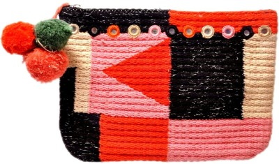 Diwaah Hand crafted Multicolor Pouch