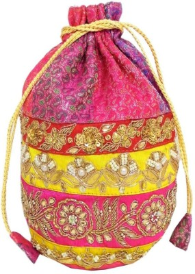 GiftPiper Embroidered Stone Work Potli