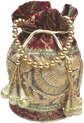 Bhamini Flowering Gold Potli