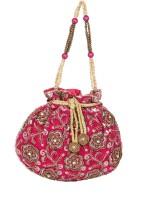 Sunbeams Beads Diamond Potli(Pink)