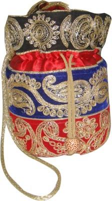 AADOO Handmade Designer MultiColor Potli Bags Potli