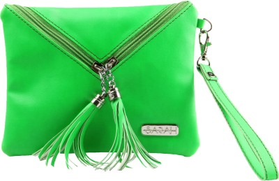 Sarah Envelope Purse Wristlet(Green)
