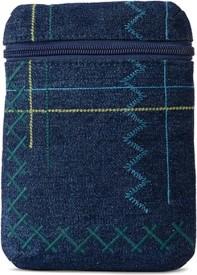 Baggit Lmp Enoch Livia Wash Blue (Blue) L Mobile Pouch(Blue)