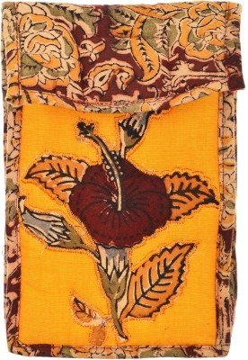 Ganesh Kalamkari Hand Bags PATCH WORK Mobile Pouch