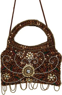 Galz4ever Dark Gold Drop Hand Bag Potli
