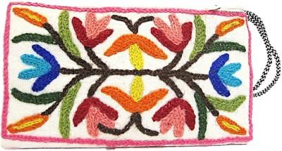 muccasacra Kashmiri Hand made Designer Pouch(Multicolor)