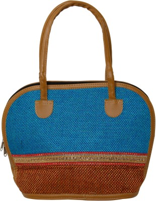 Galz4ever Fabric jute & Racine Handbag Cosmetic Bag