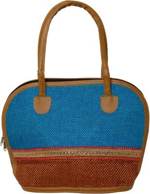 Galz4ever Fabric jute & Racine Handbag Cosmetic Bag
