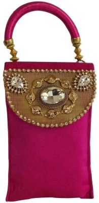 Laviva Laviva Pink Colored Pouch Pouch