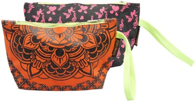 Kanvas Katha Pack of 2 Pouch Wristlet(Multicolor)